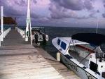BAD dive boats off resort dock
