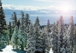 Spectacular winter wonderland views